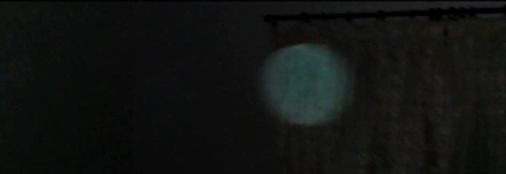 Orb caught on camera when offering help with the Paranormal in Wales.