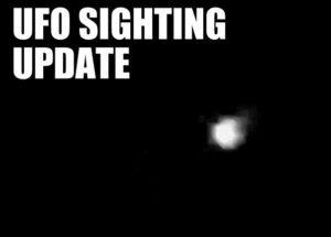UFO over Cardiff.