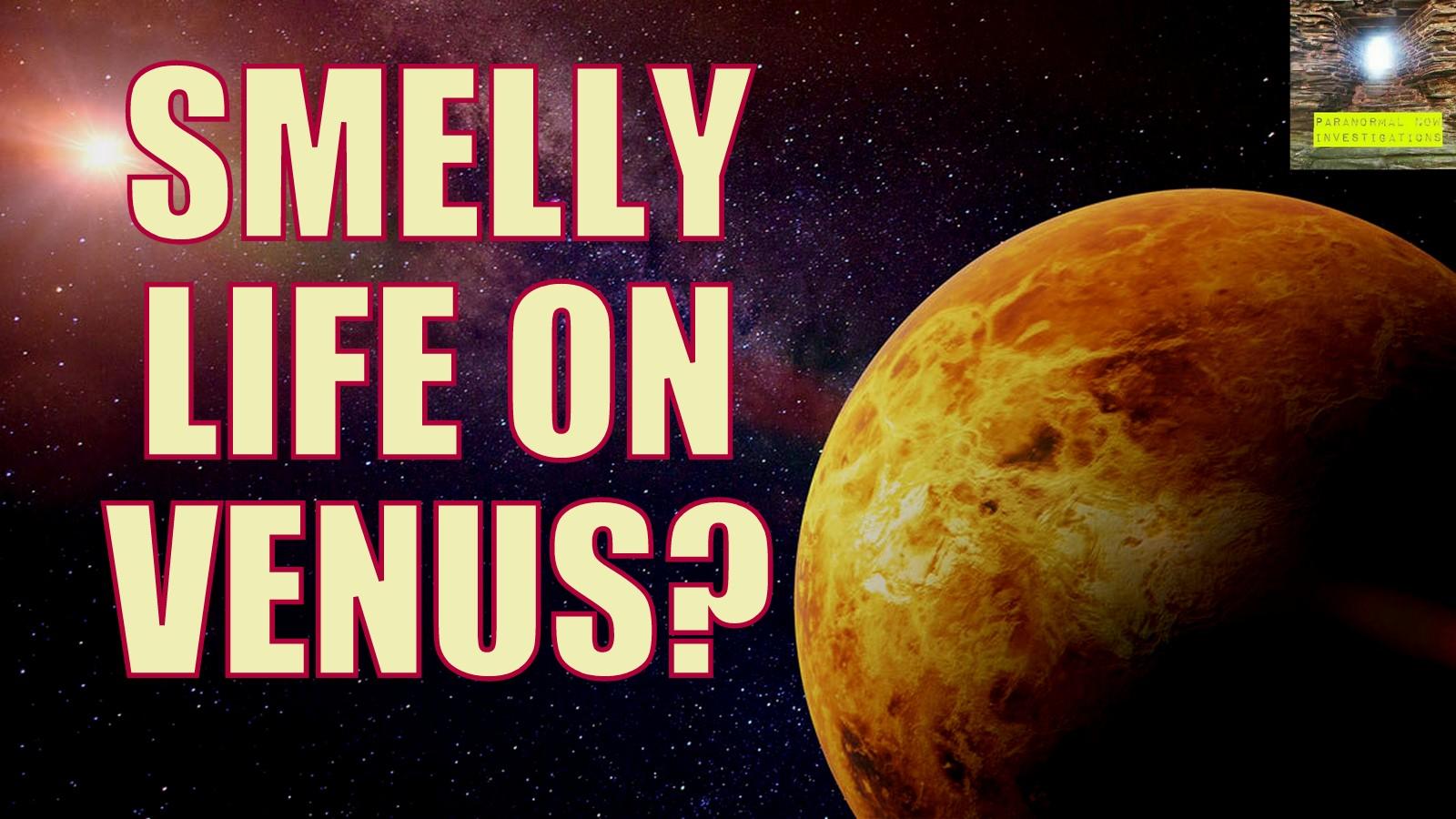 smelly aliens on Venus :D